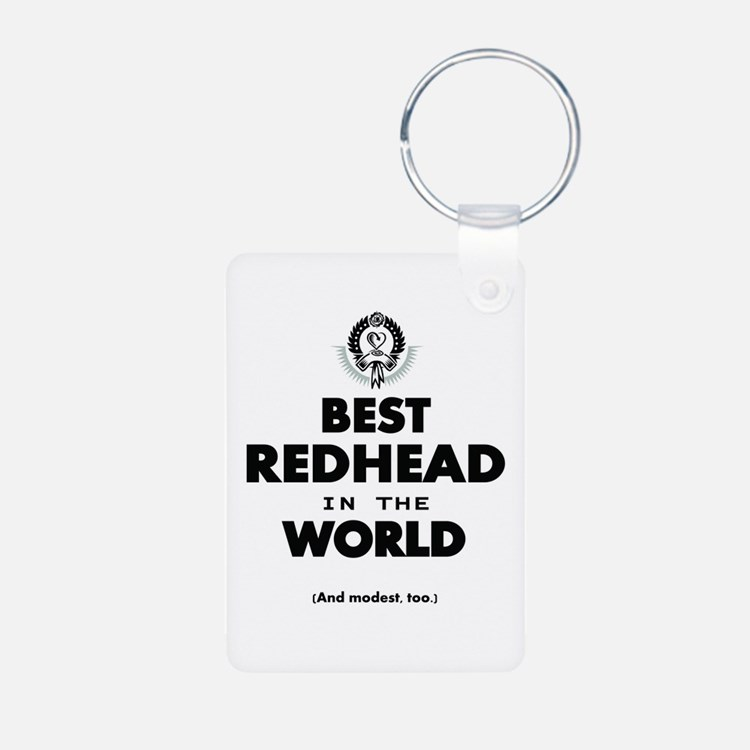 The Best in the World – Redhead Keychains