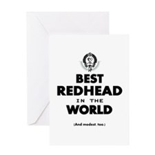 The Best in the World – Redhead Greeting Cards