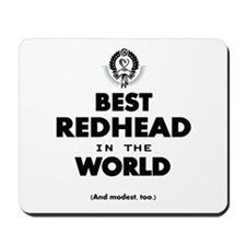 The Best in the World – Redhead Mousepad