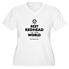 The Best in the World – Redhead Plus Size T-Shirt