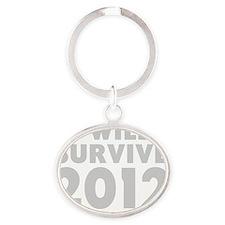 2012 Oval Keychain