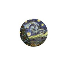 Starry Night/ Peace on Earth Mini Button