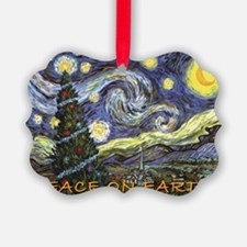 Starry Night/ Peace on Earth Ornament