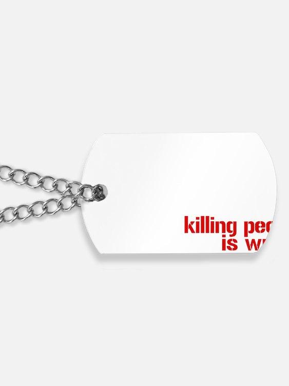 killpeople Dog Tags