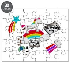 Unicorn And Penguin Craptastic Day Puzzle