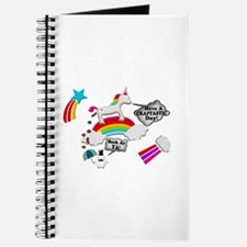 Unicorn And Penguin Craptastic Day Journal