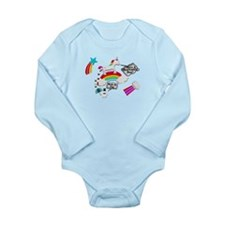 Unicorn And Penguin Craptastic Day Long Sleeve Inf