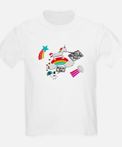 Unicorn And Penguin Craptastic Day T-Shirt