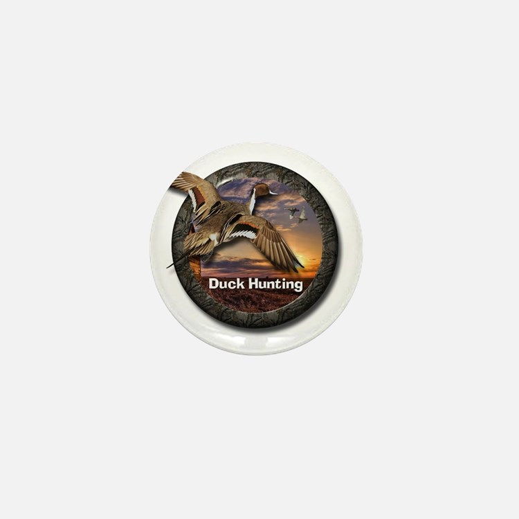 Duck Hunting Mini Button