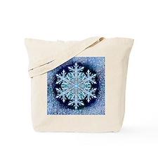 December Snowflake - square Tote Bag