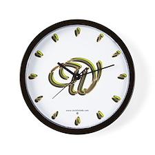 Phyllis Initial W Wall Clock