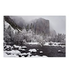 Winter Storm Over El Capi Postcards (Package of 8)