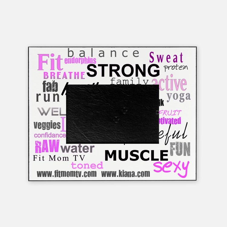 FitMomWords Picture Frame