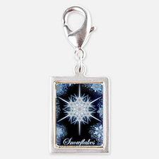 Snowflake Calendar 2012 - ve Silver Portrait Charm