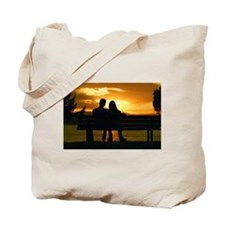 Sunset Romance Tote Bag