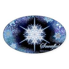 Snowflake Calendar 2012 - oversized Decal