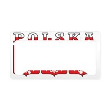 Polska Eagle Shields License Plate Holder