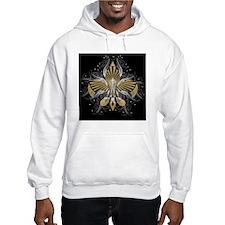 Fleur de lis Hoodie Sweatshirt