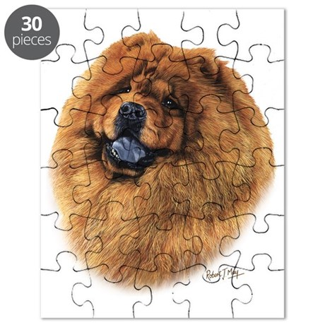 Chow Chow head Puzzle
