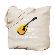 Mandolin (black) Tote Bag