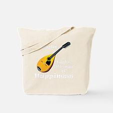 Mandolin (black) Tote Bag