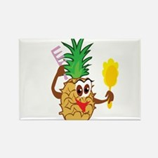 Pineapple Rectangle Magnet