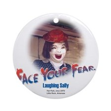 Face Your Fear Round Ornament