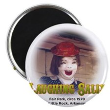 Laughing Sally Head Shot Magnet
