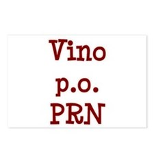 Vino P.O. PRN Postcards (Package of 8)