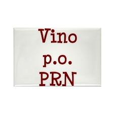 Vino P.O. PRN Rectangle Magnet
