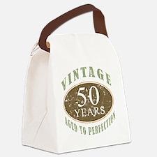 VinRetro50 Canvas Lunch Bag