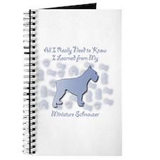 Learned Schnauzer Journal