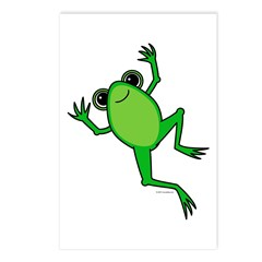 Spring Frog Postcards (Package of 8)