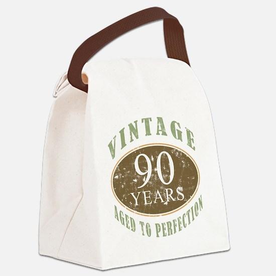 VinRetro90 Canvas Lunch Bag