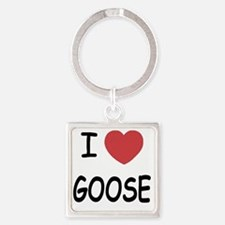 GOOSE Square Keychain