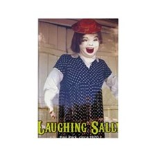 Laughing Sally Full Rectangle Magnet