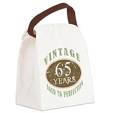 VinRetro65 Canvas Lunch Bag