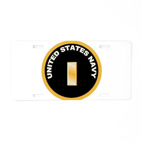 Ensign Aluminum License Plate