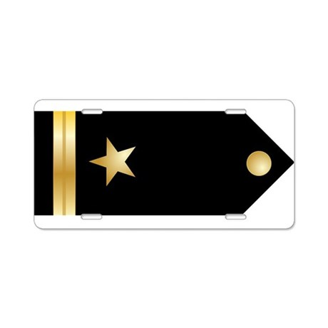Ensign Board Aluminum License Plate