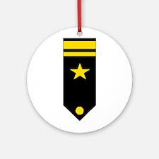 Lt. JG Board Ornament (Round)