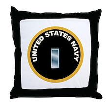 Lieutenant, jg Throw Pillow