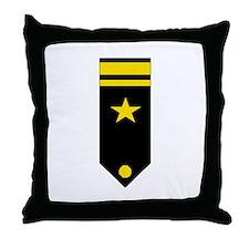 Lt. JG Board Throw Pillow