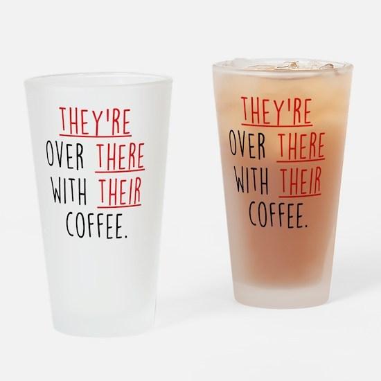 Grammar Lesson Drinking Glass