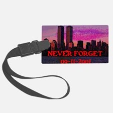 Never Forget NY 09-11-2001 Luggage Tag