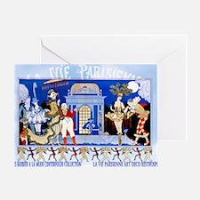 1 A BARBIER GARDEN PARTY CFLD Greeting Card