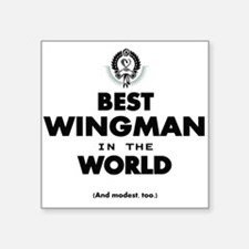 The Best in the World – Wingman Sticker