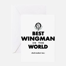 The Best in the World – Wingman Greeting Cards