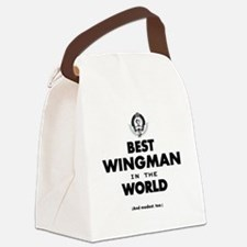 The Best in the World – Wingman Canvas Lunch Bag