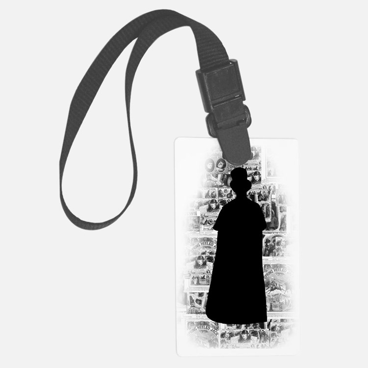 Ripper Silhouette Luggage Tag