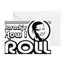 barackroll Greeting Card